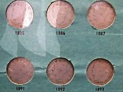Complete Liberty V-nickel Set With 1885 1886 And 1912-s All 33 Coins. 1883-1912s