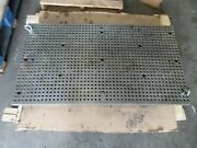 Toyoda Fv-65 Cnc Vertical Mill Work Table Drilling 47 X 26 Inch