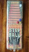 Vintage Step Ball Bagatelle Pinball Toy By Louis Marx Toys Complete And Works