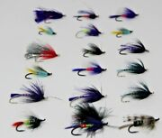 Lot Of 18 Steelhead And Salmon Fly Fishing Flies Brand New Quality Assortment Spey