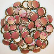 Soda Pop Bottle Caps Lot Of 100 Diet Squirt Pink Cork Lined Unused New Old Stock