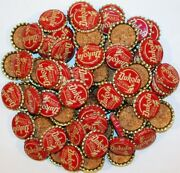Soda Pop Bottle Caps Lot Of 100 Dukola Baby Pictured Cork Lined New Old Stock