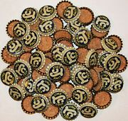 Soda Pop Bottle Caps Lot Of 100 Lc Lime Cola Cork Lined Unused New Old Stock
