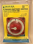 Blue Sea Systems E-series Battery Switch Pn 9004e Single Circuit On/off