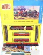 Hornby Dublo Oo The Caledonian City Of London Steam Locomotive + 4 Coaches Set