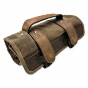 Burly Brand Voyager Waxed Canvas Tool Roll