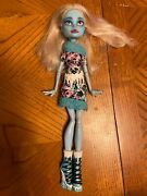 Repainted Monster High Doll Abbey Bominable Art Class