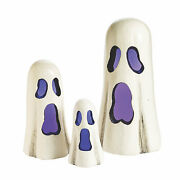 Light-up Ghost Halloween Decorations - Home Decor - 3 Pieces