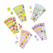 Bulk Easter Sticker Sheets - Stationery - 100 Pieces