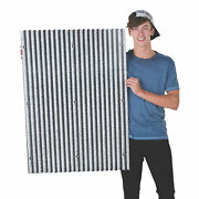 Corrugated Print Wall Panels - Party Decor - 6 Pieces