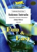 Solemn Intrada Julian Oliver Concert Band Harmonie Music Set Score And Parts