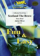 Scotland The Brave Julian Oliver Brass Band Choral Music Set Score And Parts