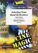 Selection From Band Of Brothers Michael Kamen Brass Band Music Set Score And Parts