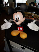 Extremely Rare Walt Disney Mickey Mouse Definitive Big Figurine Statue