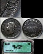 Nice Collection - Canada Large Cent - 1884 - Obverse1 - Ef B650