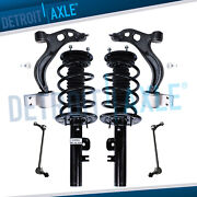 6pc Front Spring Struts Lower Control Arms Sway Bar Kit 2010 2011 2012 Ford Flex