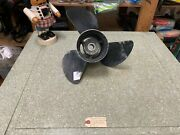 Yamaha Outboard 13 3/4 X 21 Right Hand Propeller 21p P6g5-45943-01-00
