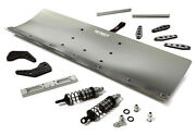 C29091grey R/c Alloy Machined 550mm Snowplow Kit For Losi 1/5 Desert Buggy Xl-e