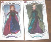 Limited Edition Disney Anna And Elsa Frozen Doll 17 Le 5000