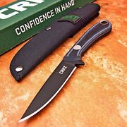 Crkt Mossback Sk5 Carbon Steel Fixed Blade Bird And Trout Hunting Fishing Knife