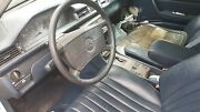 1987 Mercedes 300td Turbo Diesel Left And Right Front Seats Blue W124