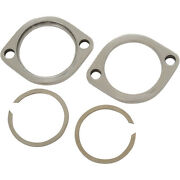 Harley Stainless Exhaust Flange Kit 2012 2013 2014 Dyna Switchback - Fld