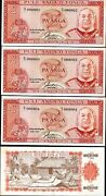 Tonga 2 Paanga P-26 1992 Solid Low 000005 Or 6 Or 7 Cloth Unc Money X 1 Note