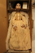 Vintage 1985 Franklin Heirloom Doll Queen Anne New In Box