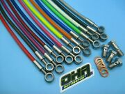 Oha Stainless Steel Braided Brake And Clutch Lines For Kawasaki Zzr1400 Abs 08-16