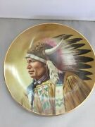 3 Gregory Perillo The Council Of Nations Collector Plates Porcelain 23 Ct Gold