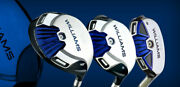 Williams Fw32 Golf Clubs Players Blue Gold Black Driver Wood Hybrid New Or Used