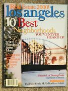 Los Angeles Magazine Jan 2000 Millennial Issue Real Estate 10 Best Locations