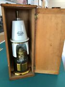 Vintage Rare 1880's J. Swift And Son Microscope Oil Lamp Free Shipping