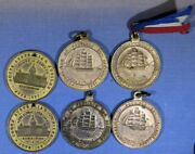 2 X 1887 Plus 4 X 1936 Sa Medals The Latter In Higher Grades