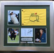 Tiger Woods Limited Edition Very Rare 2005 Masters Signed With Authentication.