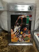 1993 Classic 4 Sport Shaquille Oand039neal 400/500 Rc Auto Insert Bgs Authentic Mint