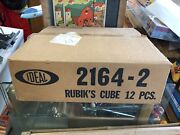 1981 Ideal Toys The Rubiks Cube Shipping Case And One Original Sealed Rubiks Cube