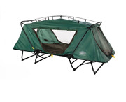 Kamp-rite Oversize Tent Cot Folding Outdoor Camping Hiking Sleeping Bed, Green