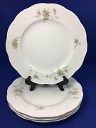 Rosenthal Catherine Classic Rose Collection Dinner Plates Germany Set Of 4  A