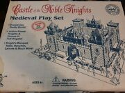 Vintage Marx Castle Of The Noble Knights Medieval Play Set Selling As Is