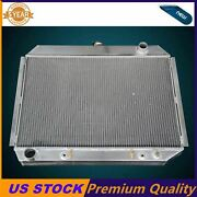 3 Rows Aluminum Radiator Fit 1968-73 Dodge Charger/ Plymouth Satellite Big Block