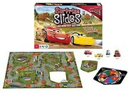 Cars 3 Surprise Slides Lightning Mcqueen Fast Race Board Game Ages 4+ Toy Play