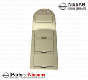 Genuine Nissan Titan Console Map Lamp Assembly Beige - New Oem