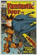 Fantastic Four 1961 95 1st App Monocle Jack Kirby And Sinnott Cover And Art Vf/nm