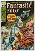 Fantastic Four 1961 114 1st Print Over-mind John Buscema Cover And Art Vf+
