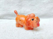 1930s Vintage The Lion King Roaring Wild Animal Celluloid Toy Japan Vintage Toy