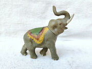 1930s Vintage Roaring Elephant Wild Animal Celluloid Toy Japan Toy Collectables