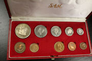 South African Mint Proof Coin Set - 1968 And 1976