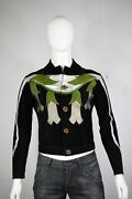 South Paradiso Leather Jacket S Deadly Nightshade East West Musical Mens Vintage
