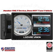 Sct Livewire Vision Performance Monitor W/ Pyro For Ford Super Duty Powerstroke
